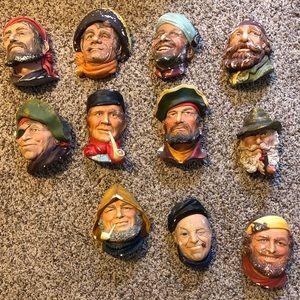 Vintage Bossons Head Chalkware